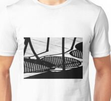 Sidewalk Cafe Shadows  Unisex T-Shirt