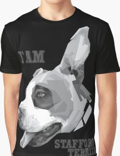 America Stafford Terrier Graphic T-Shirt