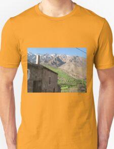Mountain blue Unisex T-Shirt