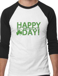 st patricks day Men's Baseball ¾ T-Shirt