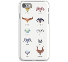The Catalogue of High Dragons iPhone Case/Skin