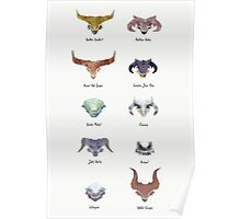 The Catalogue of High Dragons Poster