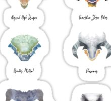 The Catalogue of High Dragons Sticker