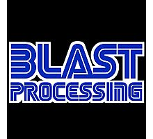 Blast Processing Photographic Print