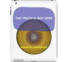 Parallel Universes - The X Files iPad Case/Skin