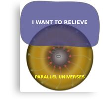 Parallel Universes - The X Files 2 Canvas Print