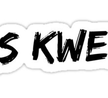 Yas KWEEN Sticker