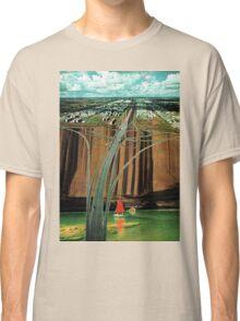 Urban Leisure, vintage collage Classic T-Shirt