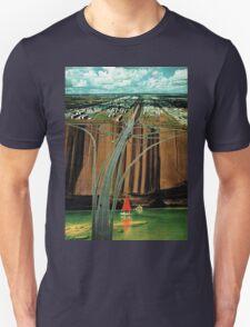 Urban Leisure, vintage collage Unisex T-Shirt