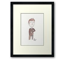 Doctor Who - Tenth Doctor Framed Print