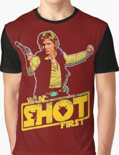 Han Shot First Graphic T-Shirt