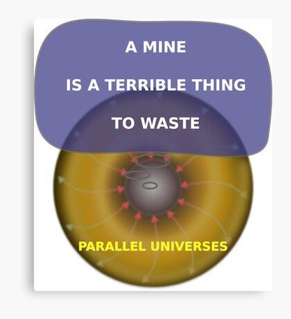 Parallel Universes - United Negro College Fund Canvas Print