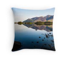Derwentwater Reflections Throw Pillow