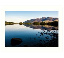 Derwentwater Reflections Art Print