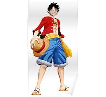 ONE PIECE - CAPTAIN LUFFY Poster