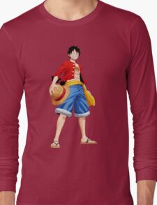 ONE PIECE - CAPTAIN LUFFY Long Sleeve T-Shirt