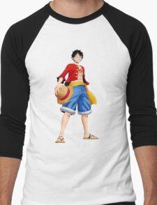 ONE PIECE - CAPTAIN LUFFY Men's Baseball ¾ T-Shirt