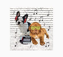 Musical Notes French Bulldog & Dogue De Bordeaux T-Shirt