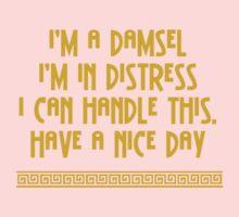 I'm A Damsel One Piece - Short Sleeve