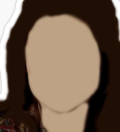 Allison Argent Faceless Sticker