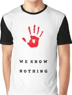 We don't, do you? Graphic T-Shirt