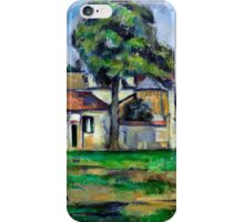 1888 - Paul Cezanne - Banks of the Marne iPhone Case/Skin