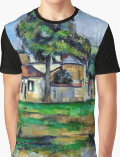 1888 - Paul Cezanne - Banks of the Marne Graphic T-Shirt