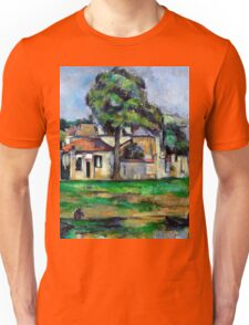 1888 - Paul Cezanne - Banks of the Marne Unisex T-Shirt