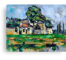 1888 - Paul Cezanne - Banks of the Marne Canvas Print