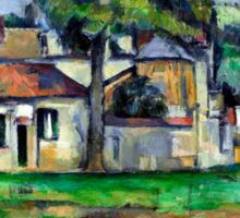 1888 - Paul Cezanne - Banks of the Marne Sticker