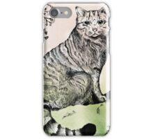 Scottish Wild Cat iPhone Case/Skin