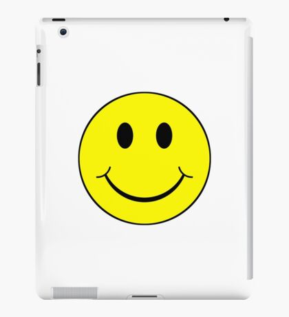 Classic smiley iPad Case/Skin