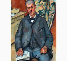 1889 - Paul Cezanne - Seated Man Unisex T-Shirt