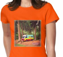 Adventures in The Mystery Machine Womens Fitted T-Shirt