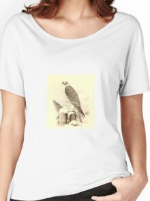 Historical bird painting Women's Relaxed Fit T-Shirt