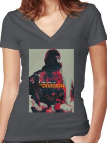 Tom Clancy The Division Women's Fitted V-Neck T-Shirt