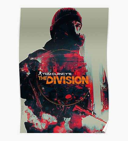 Tom Clancy The Division Poster