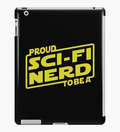 Proud To Be A Sci-fi Nerd iPad Case/Skin
