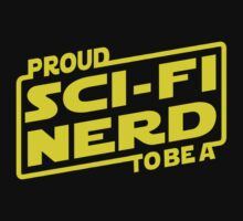 Proud To Be A Sci-fi Nerd One Piece - Long Sleeve