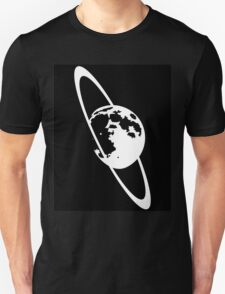 Moon with Rings Unisex T-Shirt