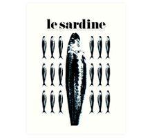 Le sardine - The sardines Art Print
