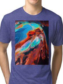 Abstract 47 Tri-blend T-Shirt