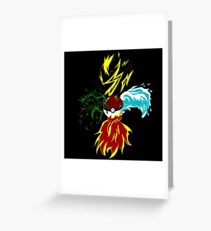 Pokeball Greeting Card