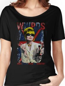 What Would Patsy Do, Sweetie? - Black Women's Relaxed Fit T-Shirt