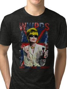 What Would Patsy Do, Sweetie? - Black Tri-blend T-Shirt