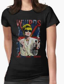What Would Patsy Do, Sweetie? - Black Womens Fitted T-Shirt