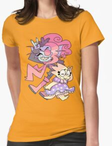 Undyne and Alphys Cute Womens Fitted T-Shirt