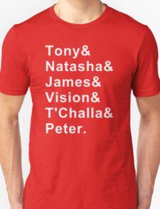 Team Iron Man T-Shirt  T-Shirt