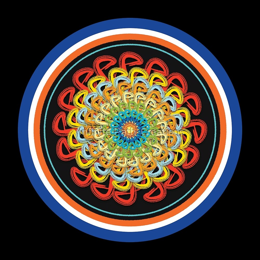 Infinite Path Martial Arts Mandala 2 by Infinite Path  Creations