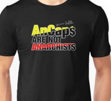 AnCaps Are NOT Anarchists, LOL Unisex T-Shirt